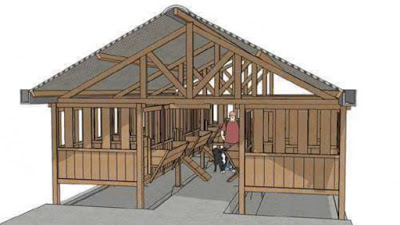 contoh Pembinaan Kandang Kambing