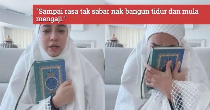 Nora Danish Sebak Khatam Al-Quran