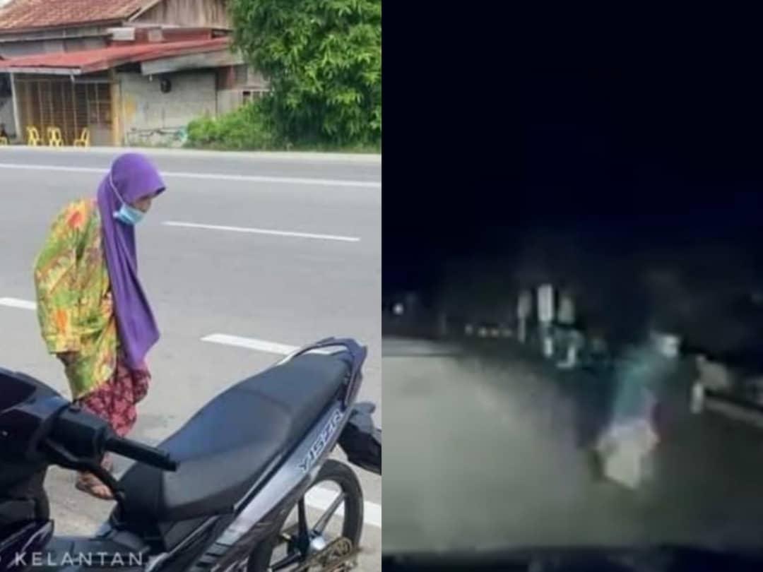 Nenek lintas jalan