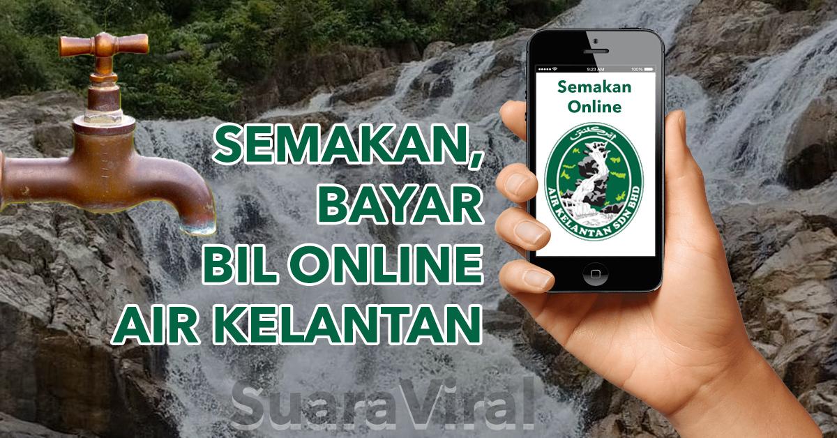 semak dan bayar bil air Kelantan